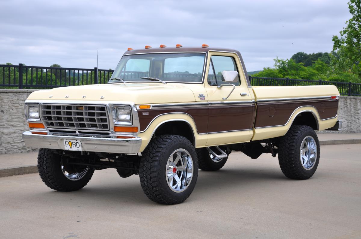 1978 Ford Truck >> 1978 Ford F250 4x4 Lariat